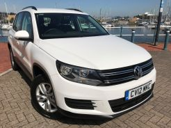 Used VOLKSWAGEN TIGUAN in Sully, Penarth for sale